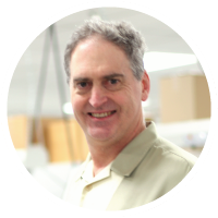 John Jacobsen, senior electrical engineer