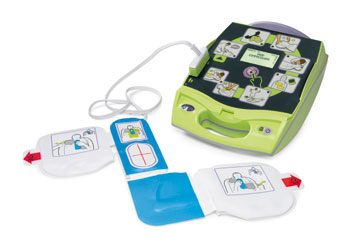 AED Plus with padz