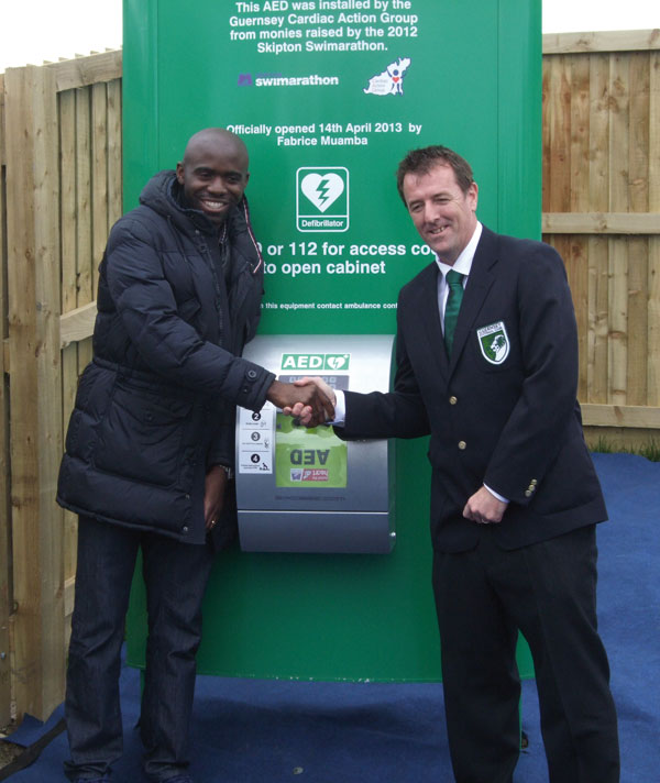 Fabrice Guernsey AED