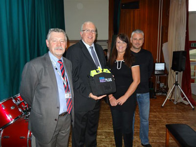 AED Plus Donated to Oakdale School