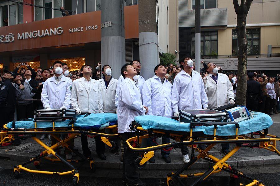 Shanghai medics m series defibrillator