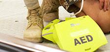 Danish soldier AED Plus