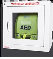 AED nella teca - 17,8 cm